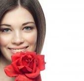 Belleza de mujer — Foto de Stock