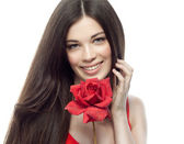 красота женщины — Стоковое фото