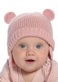 Baby little girl portrait — Stock Photo
