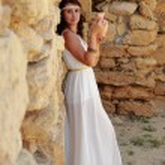 Woman in Greek style — Stock Photo #53104739