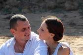 Happy couple — Stockfoto