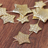 Golden stars — Stock Photo