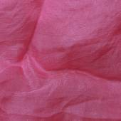 Pink organza fabric texture — Stock Photo