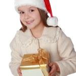 Kid on Christmas — Stock Photo #60688289