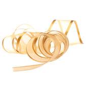 Golden ribbon — Stock Photo
