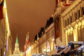 Christmas in Moscow, Russia — Stock Photo