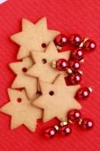 Sweet Christmas stars — Foto Stock