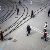 Urban traffic concept — Stock Photo