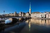 Beautiful view of Zurich — Stock Photo