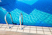Water in a swimming pool — Stock Photo