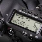 Professional modern DSLR camera — Stock Photo #55626873
