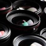 Modern camera lenses — Stock Photo #56397967