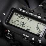 Professional modern DSLR camera — Stock Photo #61252109