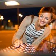 Woman shopping in a grocery store — Stock Photo #61565077