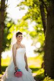 невесты в день своей свадьбы — Стоковое фото