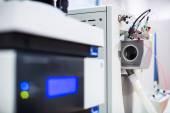 Chemistry lab Detail of a machine, chromatograph — Stockfoto