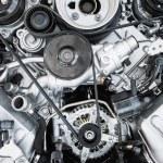 Car Engine - Modern powerful car engine — Stock Photo #76322371