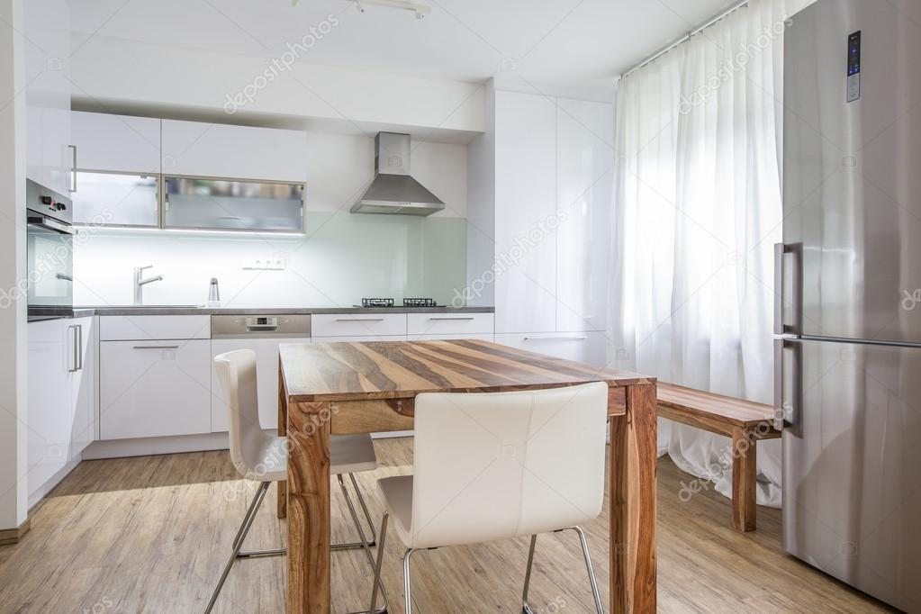 Moderne keuken interieur — stockfoto © lightpoet #76322737