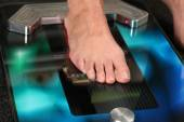 3D foot scanner — Stock Photo