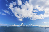 Coast landscape in Hong Kong Lantau Island — Stock Photo