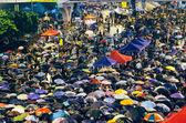 Umbrella Revolution in Hong Kong 2014 — Foto de Stock
