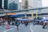 Umbrella Revolution in Hong Kong 2014 — Стоковое фото