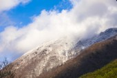 Snow mountains in Japan — ストック写真