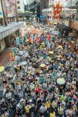 1 July protest in Hong Kong — Stock Photo