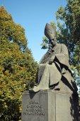 Stefan Wyszynski monument — Stock fotografie