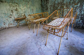 Hospital in Pripyat — Stock Photo
