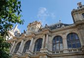 Palais de la Bourse in Lyon — Stock Photo
