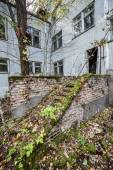 Pripyat town — Stock Photo