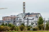 Chernobyl Nuclear Power Plant sarcophagus — Photo