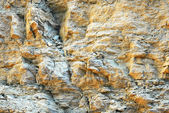 Ochre rock — Stock Photo