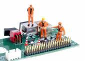 Computer failure — Stock Photo