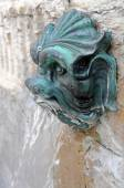 Fountain in Lyon — Stock Photo