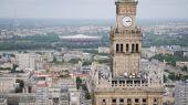 Warsaw view, Poland — Stock Photo
