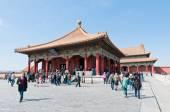 Ciudad prohibida en beijing — Foto de Stock