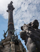 Columbus Monument — Stock Photo