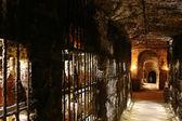 Tokaj Wein Höhlen — Stockfoto