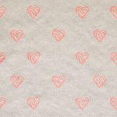 Бесшовный фон фон сердца — Стоковое фото