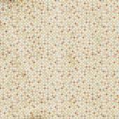 Pozadí abstraktní geometrické retro bezešvé polka dot — Stock fotografie