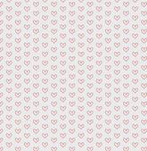 бесшовный фон фон сердца — Cтоковый вектор