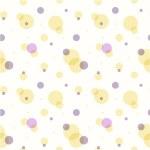 Abstract geometric retro seamless polka dot background — Stock Vector #71245687