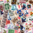Background of Belgian postage stamps — Stock Photo #57449115