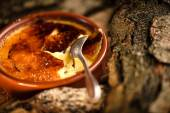 French creme brulee — Stock Photo