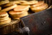 Original waffle iron — Stock Photo