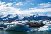 Glacier lagoon in Iceland — Stock Photo