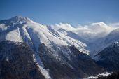 Winter time in Alps — Stockfoto