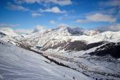 Winter time in Alps — Stock Photo